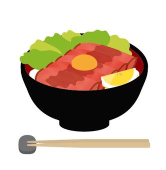 碗烤牛肉碗