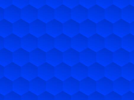 Hexagon Blue