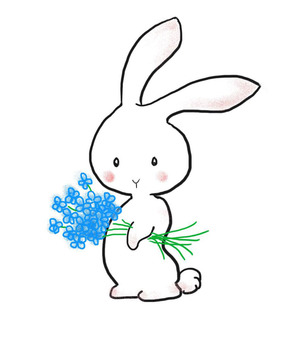 Flower rabbit 2