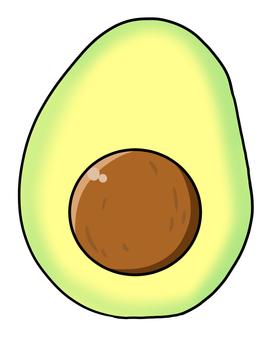 Avocado (half)