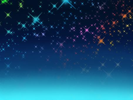 밤하늘 6 레인보우