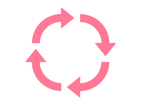 Arrow _ rotation (pink)