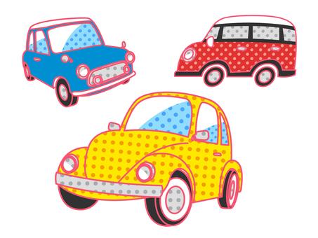 Car _ Retro Pop _ Set