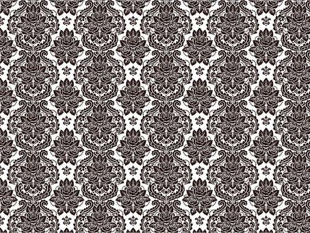 Rose damascene pattern