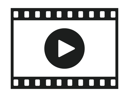 Video playback pictogram