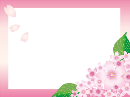 Sakura frame · background 4
