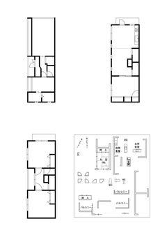 Floor plan drawing parts