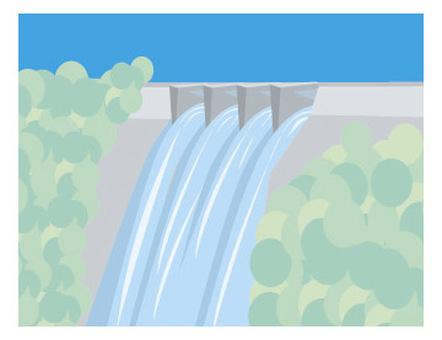 Dam discharge