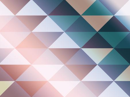 Texture triangular mosaic modern