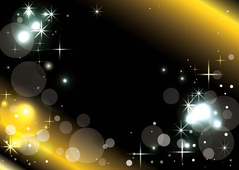 Black sparkling background
