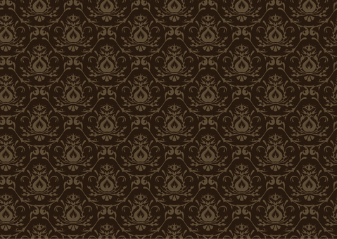 Western style wallpaper _ 3 _ Brown