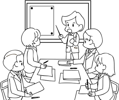 Conference (Line drawing)