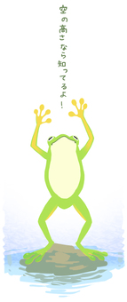 Frog in In well