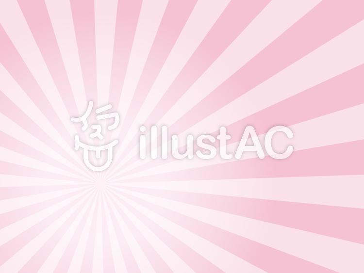 集中線ピンクグラデーションイラスト No 702570無料イラストなら