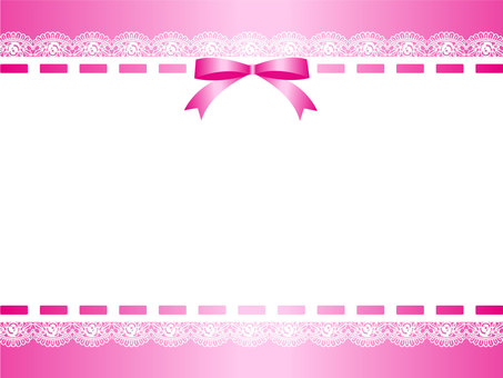 Ribbon & Lace Frame