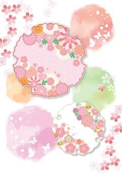 梅桜フレーム