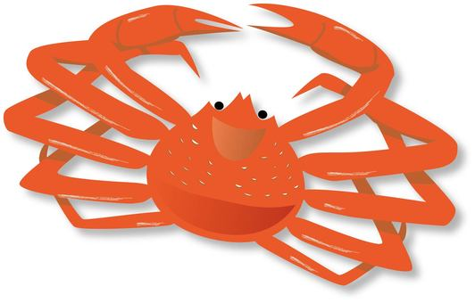 Crab (with shadow)
