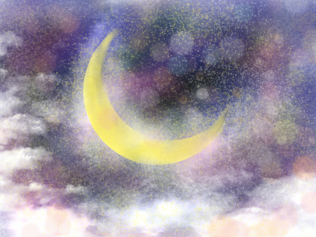Crescent moon dream