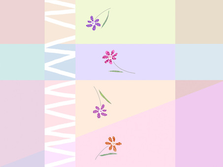 Gently touching flower -3