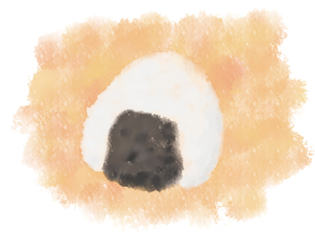 Onigiri watercolor picture 1