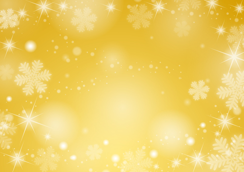 Christmas background-snowflakes (gold)