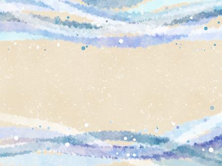 Wave streamline background