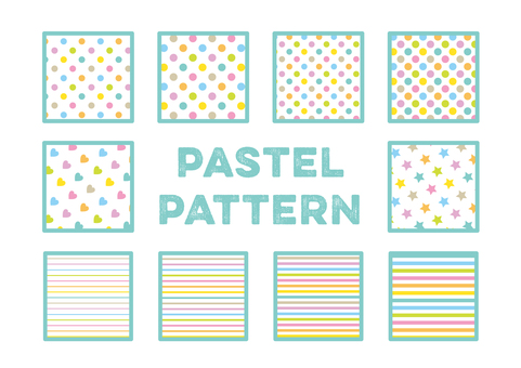 PATTERN_ pastel background