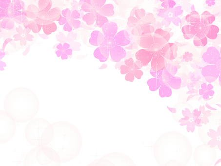 Sakura background transparent