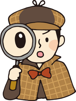 Detective (magnifying glass)