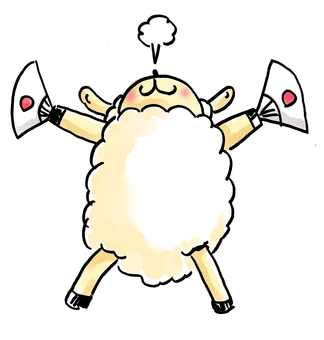 Cheering Sheep 3