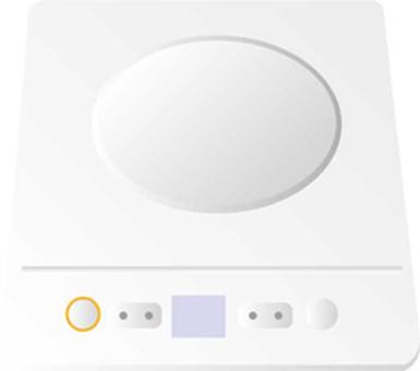 Desktop electromagnetic cooker