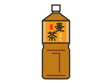 Barley tea 2L plastic bottle