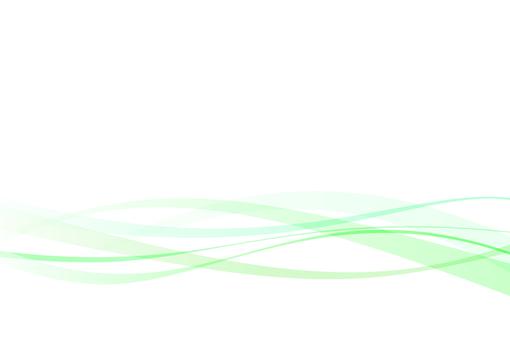 波浪綠色簡單