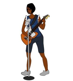 黑人女子搖滾歌手