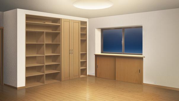 Empty room (night)