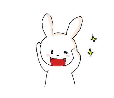 早上好兔子