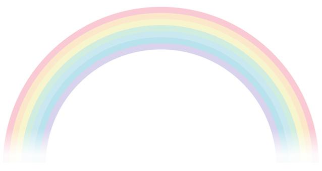 Pastel's rainbow