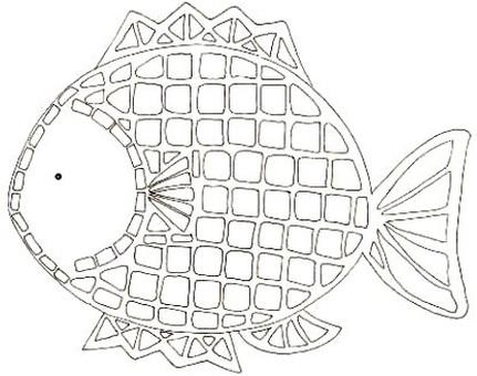 생선 (흑백)