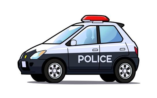 Police car - 002