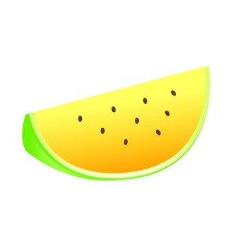 Cut watermelon (cream)