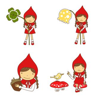 Little Red Riding Hood Set · 02