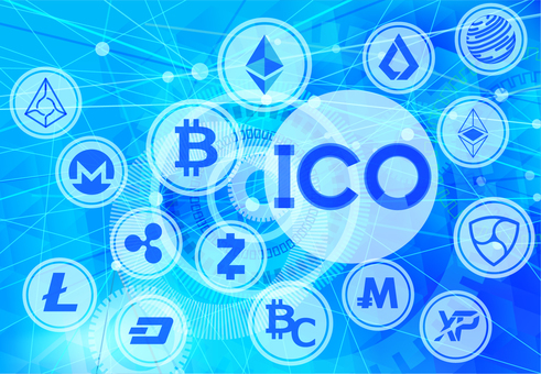 ICO 새 가상 통화 공개 및 가상 디지털 배경