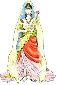Kannon Bodhisattva White