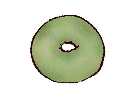 Matcha bagel
