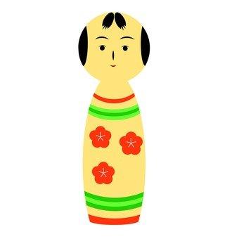 Kokeshi (flower) 1