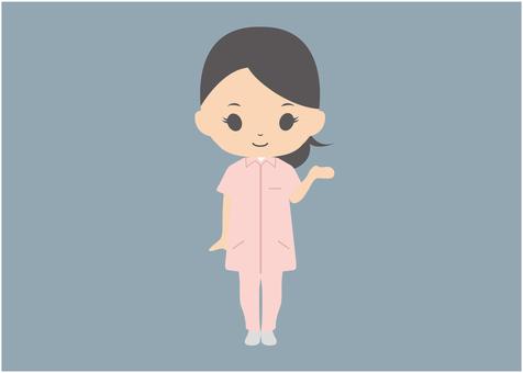Female caregiver