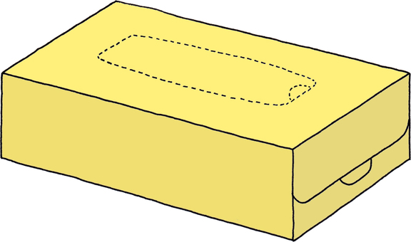 Tissue Yellow 3 (no character)