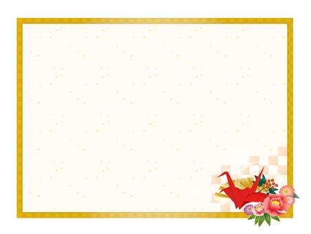 Japanese style decorative frame 4