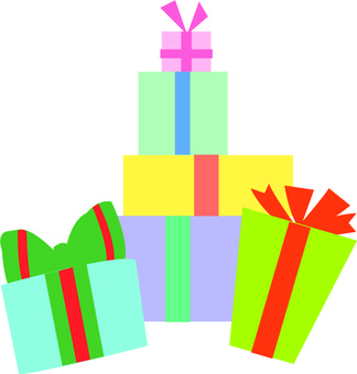 A lot of gifts