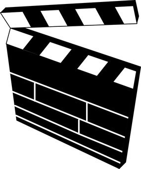 Movie photo clipboard Free illustration free material